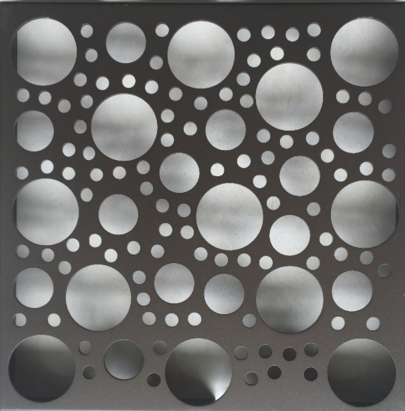 aluminum perforated wall